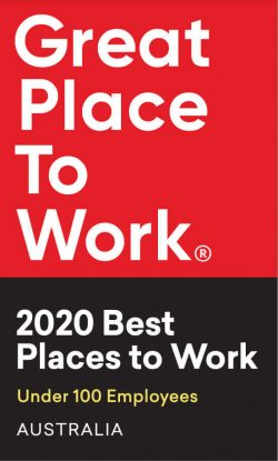 Great Place to Work | 2020 Best Places to Work under 100 Employees Australia